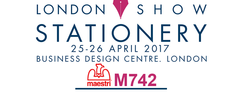 LONDON STATIONERY SHOW 2017 25-26.04