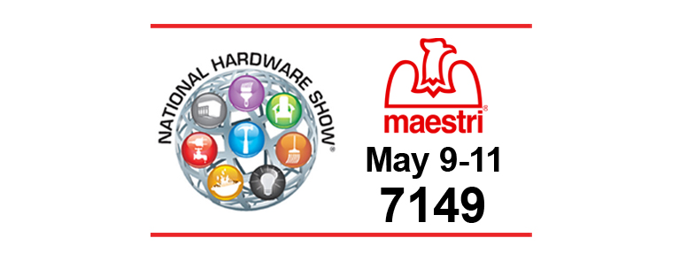 NATIONAL HARDWARE SHOW 2017 09-11.09