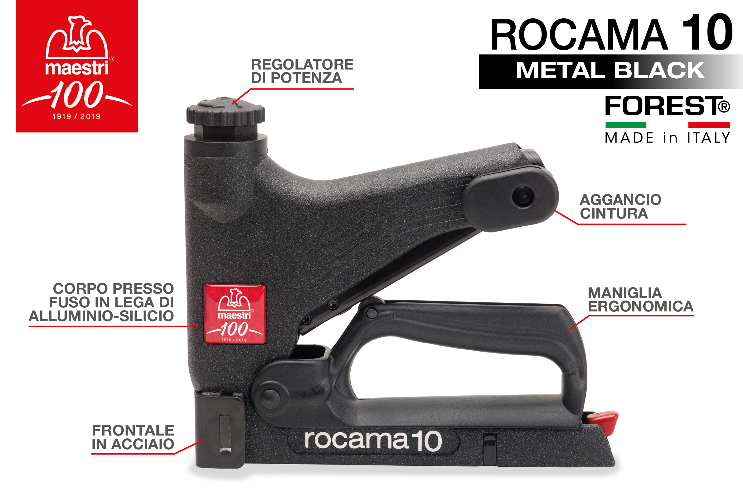 ROCAMA 10 METAL BLACK