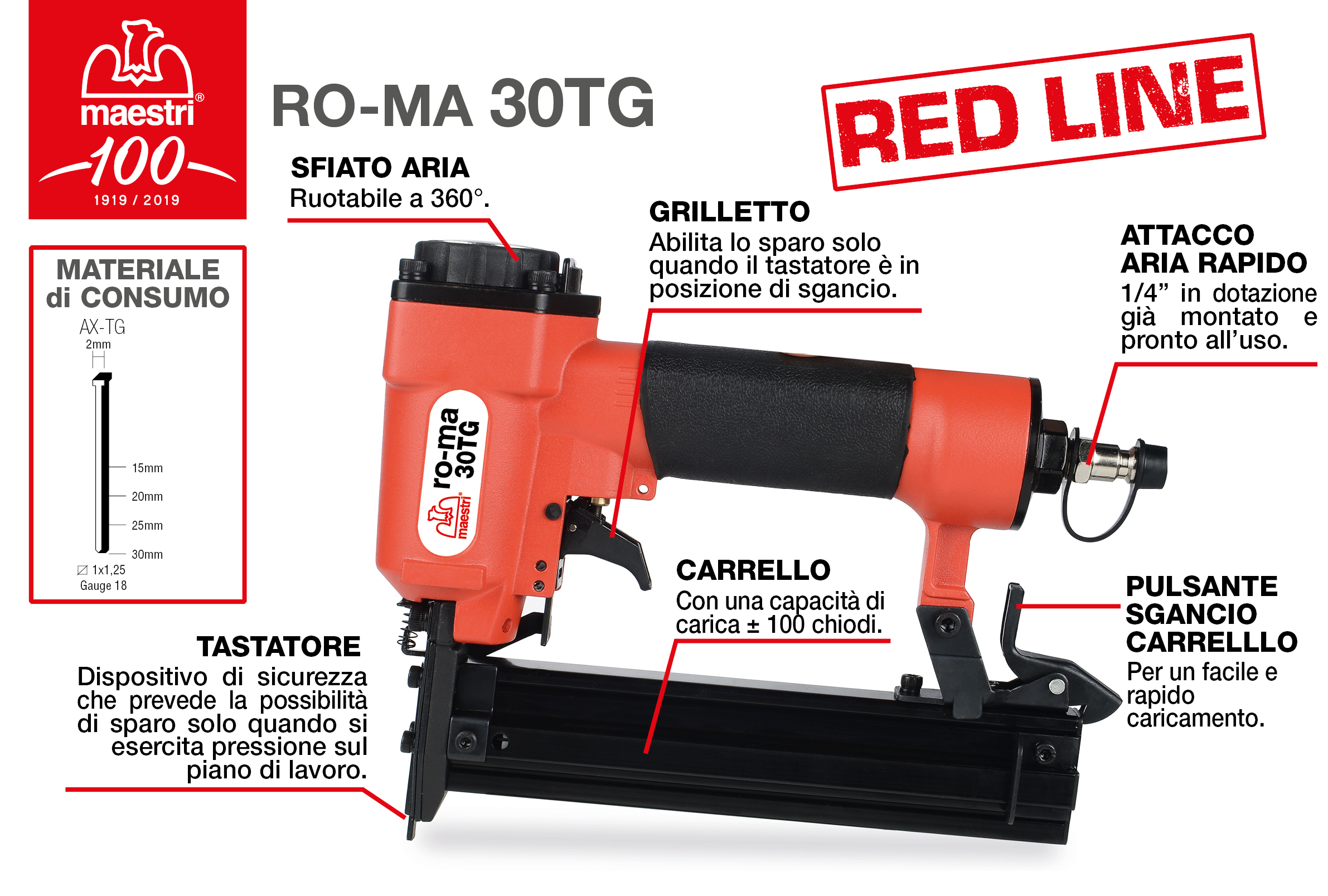 RO-MA 30TG RED LINE